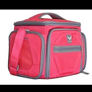 Fitmark Shield Pink Meal Prep Insulated Bag